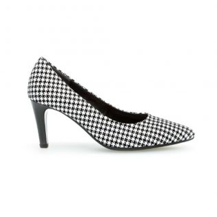 Gabor Medium Heel Court Shoe