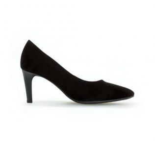 Gabor Medium Heel Court Shoe