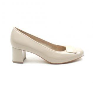 ARA block heel dress shoe