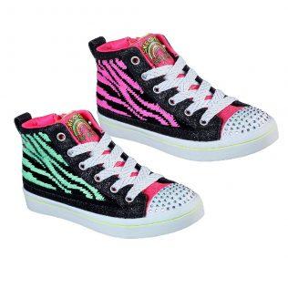 Skechers 314025 Black/Hot Pink