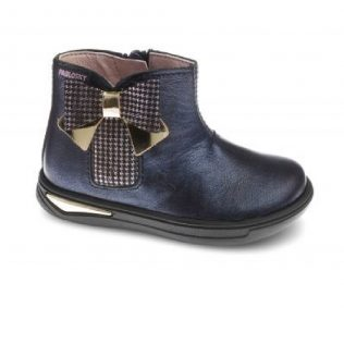 Pablosky 087822 Navy bow boot