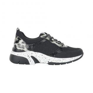 Remonte D4107-02 Black/Leopard