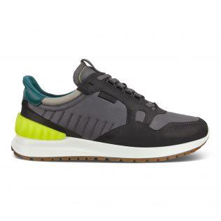 Ecco 523214 52305 Black/Grey/Lime