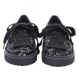 ARA 37415 Black graffiti Lace