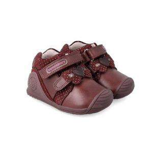 Biomecanics 201109 Wine bow girls shoe