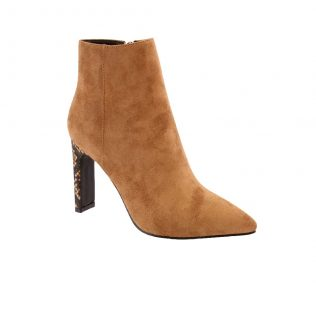 Hannah B HB0162 Camel Suede