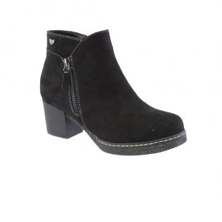 Susst Dusty Black Suede