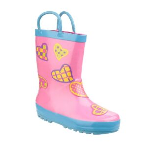Cotswold Puddle Boot Hearts