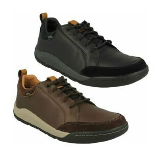 Clarks Ashcombe Bay GTX Brown Leather