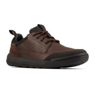 Clarks Ashcombe Lo Gtx Brown Leather