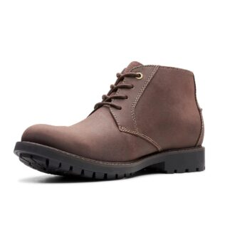 Clarks Curington Over Dark Brown