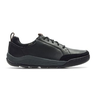 Clarks Ashcombe Bay GTX Black Leather