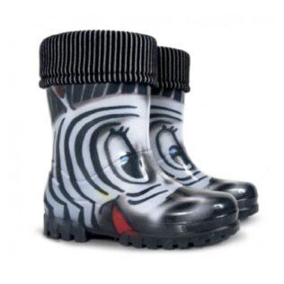 Demar Wellie Zebra