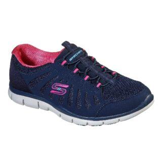 Skechers 104150 Navy/Hot Pink