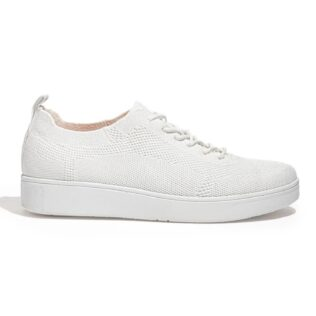 Fit Flop Rally Tonal Knit White