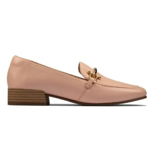 Clarks  Pure Block Light Pink Leahter