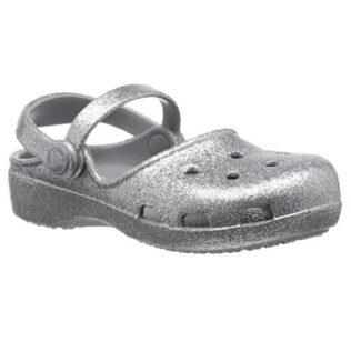 Crocs 202884 Karin Sparkle Clog Silver