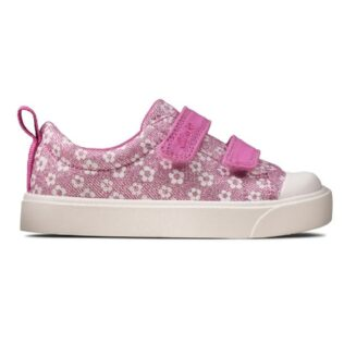 Clarks City Bright Pink