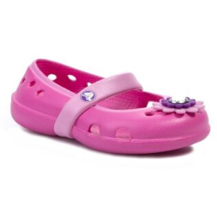 Crocs 15399 Keeley Petal Flat Neon Pink